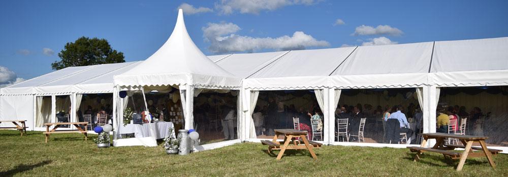 Marquee Wedding in Dorset