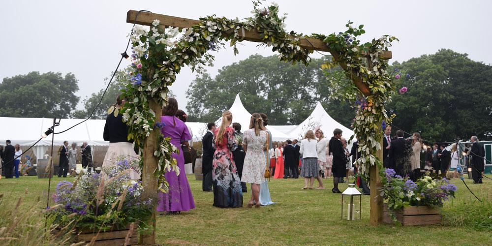 Marquee Wedding, dorset, dorset venue, wedding marquee hire, marquee company Bridport
