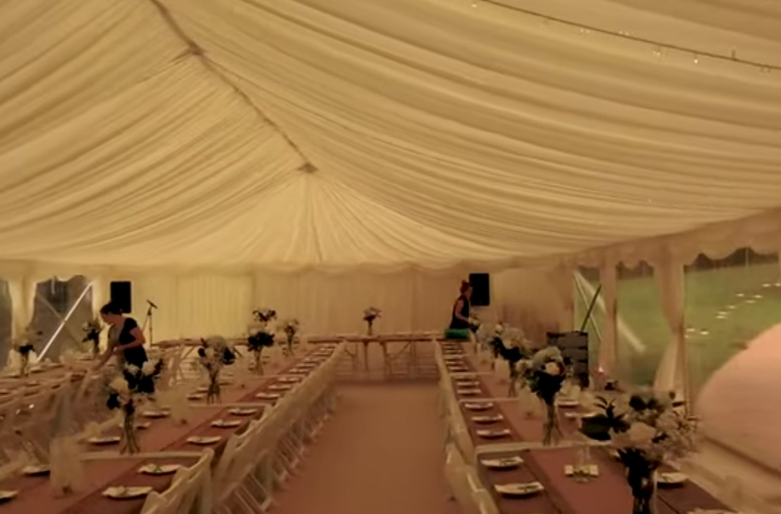 wedding setup video, Taddle Farm Tents, marquee erection video, marquee hire dorset